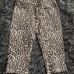 5/$25 CHILD OF MINE by CARTER'S leopard pants